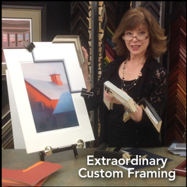 Extraordinary Custom Framing
